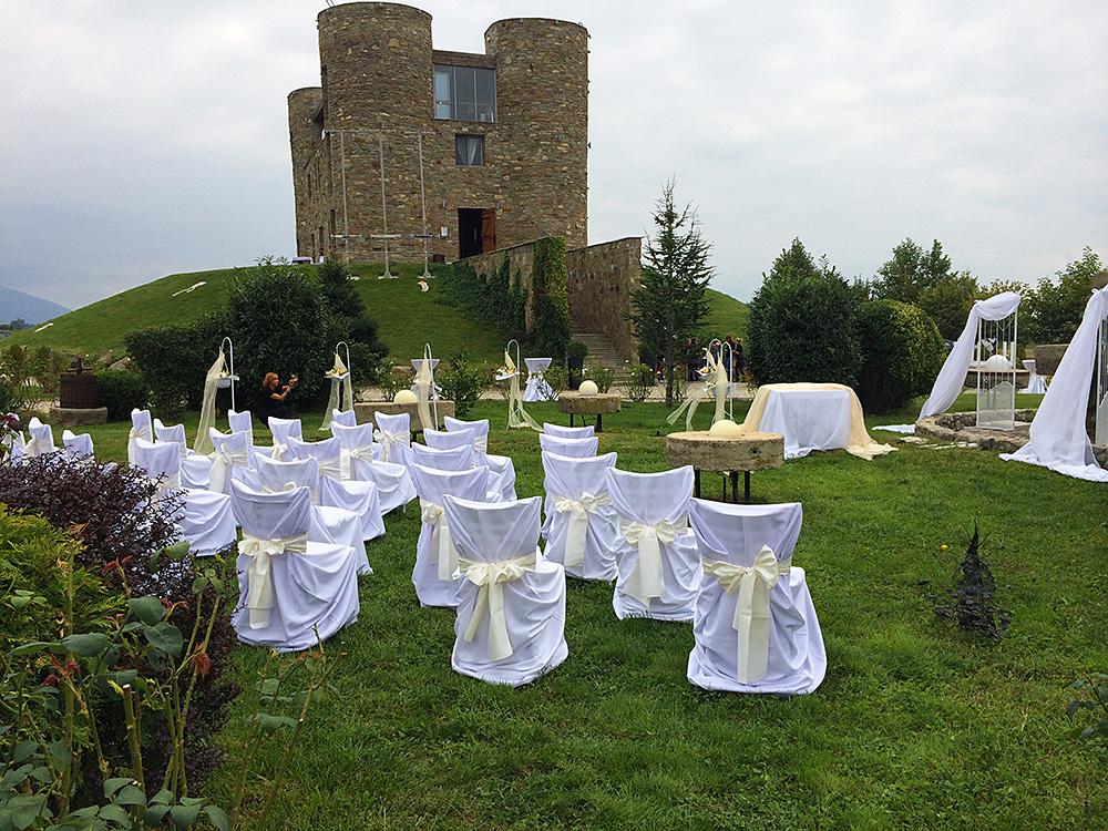 Сватба в шато Копса - 13.09.2014 г.