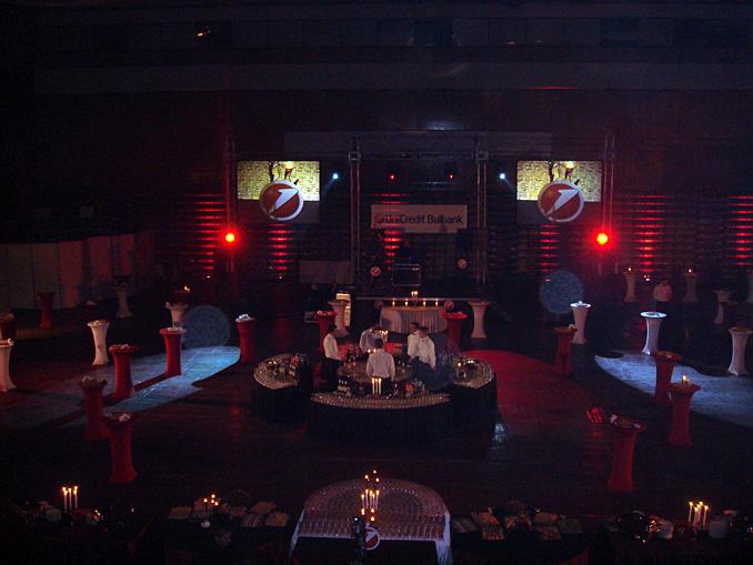 Коледно парти УниКредит Булбанк, 2000 гости - 10.12.2008г.