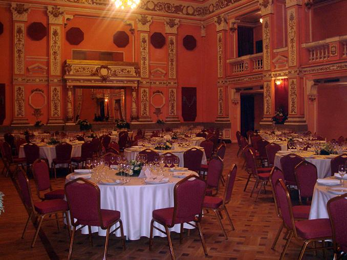 Гала вечеря Италиански Културен Институт, ЦДНА, 200 гости - 13.12.2008г.
