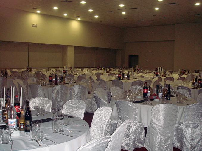 Коледно парти на фирма Чипита в зала Union Hall, 700 гости - 21.12.2008г.
