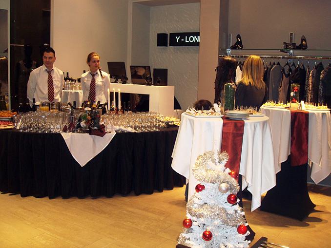 Откриване на магазин Y-LONDON, 40 гости - 23.12.2009г.