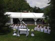 Кетъринг: Градинска сватба - с. Рибарица - 06.07.2013г