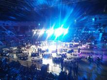 Кетъринг: MMA боеве - Арена Армеец - ВИП зона - 10.2013г.