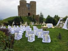 Кетъринг: Сватба в шато Копса - 13.09.2014 г.