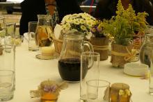 Кетъринг: Градинска сватба край София - 14.09.2013г.