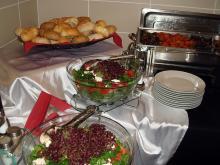Кетъринг: Кафе пауза и работен обяд - Съдебна палата в София, 80 гости - 01.06.2009г