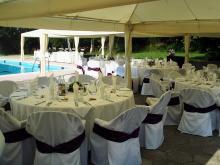 Кетъринг: Сватба в Долна Баня почивна станция Природа, 120 гости - 04.07.2009г