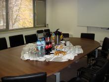 Кетъринг: Кафе пауза в ЧЕЗ Електроразпределение, 20 гости - 04.11.2009г.
