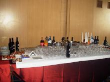 Кетъринг: Коктейл в Първа Градска Болница (I МБАЛ) (София), 50 гости - 05.02.2010г.