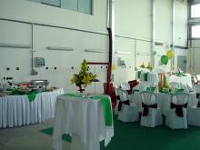 Кетъринг: Откриване на нов търговски и сервизен център в гр. Плевен - фирма Мегатрон, 100 гости - 07.10.2009г.