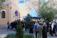 Кетъринг: Оборудване под наем Софийска Католическа Екзархия , 07.11.2010г.