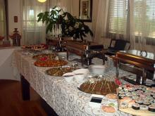 Кетъринг: Семеен празник в частен дом, 30 гости - 08.06.2009г.