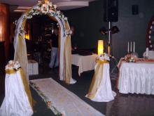 Кетъринг: Сватба в р-т Wasabi Lounge, 90 гости - 08.08.2009г