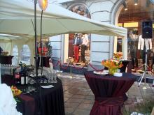 Кетъринг: Откриване на нов магазин от веригата Агресия Груп, 100 гости - 09.03.2010г.