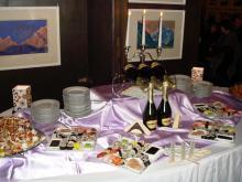Кетъринг: Коктейл в Национална галерия за чуждестранни изкуства, 100 гости - 10.02.2009г