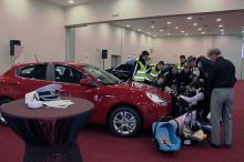 Кетъринг: Национална кампания - Коланите спасяват живот в залата на Еврохолд, 11.03.2011г.