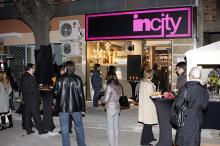 Кетъринг: Откриване на магазин INCITY, 150  гости - 13.11.2008г
