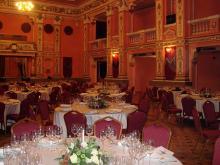 Кетъринг: Гала вечеря Италиански Културен Институт, ЦДНА, 200 гости - 13.12.2008г.