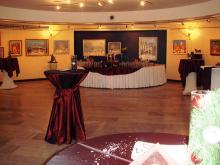 Кетъринг: Коледен коктейл в частна фирма, 120 гости - 11.12.2009г.