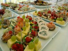 Кетъринг: Откриване на нов логистичен център в гр. Елин Пелин, 170 гости - 16.04.2010г