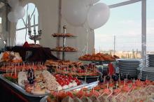 Кетъринг: Откриване сграда на ПОК Доверие, 250 гости - 16.09.2010г.