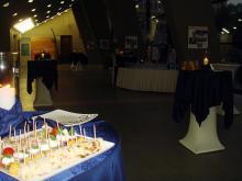 Кетъринг: Коктейл на Еврохолд Балканска лига за сезон 2009/2010 г. в зала Универсиада - 17.10.2009г.