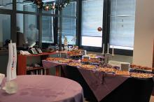 Кетъринг: Коктейл в офиса на фирма Телетрейд България ЕООД- 17.12.2010г.