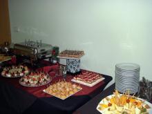 Кетъринг: Зала Универсиада - Доставка на хапки - 18.12.2009г.
