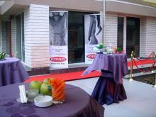 Кетъринг: Откриване на биомагазин Здравословен живот, 80 гости - 19.05.2010г.