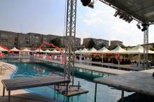 Кетъринг: Частно парти край басейн в Град Лом-19.06.2011г.