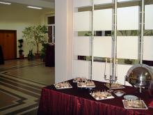Кетъринг: Коктейл в ректората на Техническия Университет, 150 гости - 19.11.2008г