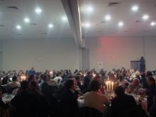 Кетъринг: Коледно парти на фирма Чипита в зала Union Hall, 700 гости - 21.12.2008г.