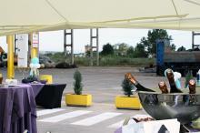 Кетъринг: Откриване - сграда на Шолц България АД, 60 гости - 22.07.2010г.