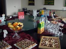Кетъринг: МКБ Юнионбанк, 20 гости - 23.02.2009г