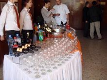 Кетъринг: Oткриване на кабинет с 3D скенер във факултета по Дентална медицина - София,120 гости - 23.04.2009г