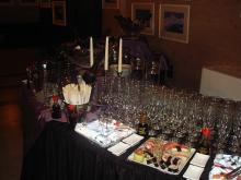 Кетъринг: Коктейл в Национална Галерия за Чуждестранно Изкуство, 100 гости - 23.04.2010г.