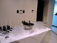 Кетъринг: Освещаване офис на фирма МАКМЕТАЛ, 60 гости-23.07.2008г