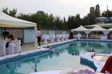 Кетъринг: Сватба на басейн Чери, 130 гости - 24.07.2010 г.