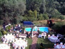 Кетъринг: Сватба в частен дом в с. Драгичево, 70 гости - 24.07.2010г.