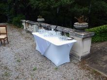 Кетъринг: Сватба в резиденция Лозенец, 100 гости - 24.07.2010г.