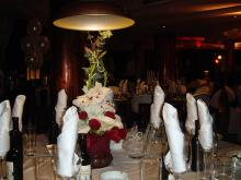 Кетъринг: Сватба в р-т Wasabi Lounge, 80 гости - 25.04.2009г.