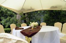 Кетъринг: Оборудване под наем за сватба в дом №2 Бояна-25.06.2011г.