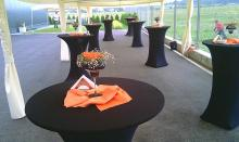 Кетъринг: Откриване на логистичен център К&К Маркетинг, 150 гости - 25.06.2010г..