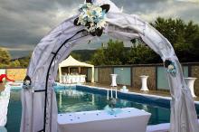 Кетъринг: Градинска сватба на басейн Чери -25.06.2011г.