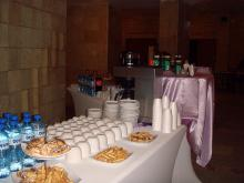 Кетъринг: Кафе пауза в УНСС, 55 гости - 25.09.2009г.