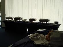 Кетъринг: Работен обяд в студиото на телевизионното предаване Търси се