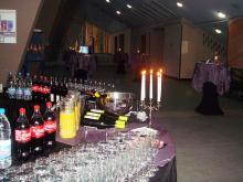 Кетъринг: Коктейл на Еврохолд Балканска лига за сезон 2009/2010 г. в зала Универсиада - 27.01.2010г.
