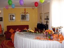 Кетъринг: Абитуриентски бал  в частен дом, 40 гости - 27.05.2008г