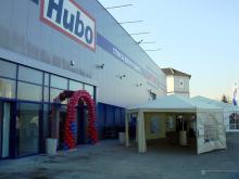 Кетъринг: Откриване на нов строителен хипермаркет Hubo - Детекс, 350 гости - 28.11.2008г