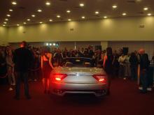 Кетъринг: Представяне на Maserati Gran Cabrio в Авто Юнион, 100 гости - 29.04.2010г.